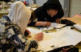 همایش کتابت «مشق خون» با حضور هنرمندان گلستانی برگزار شد